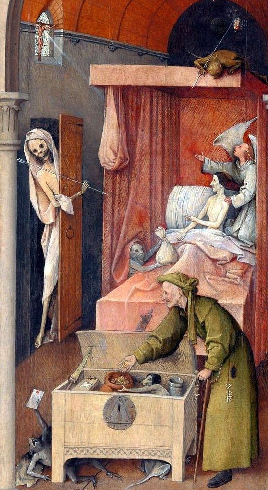 Der Tod und der Geizhals / Death and the Miser